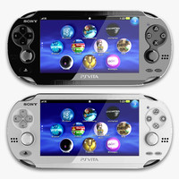Sony PS Vita 3D models